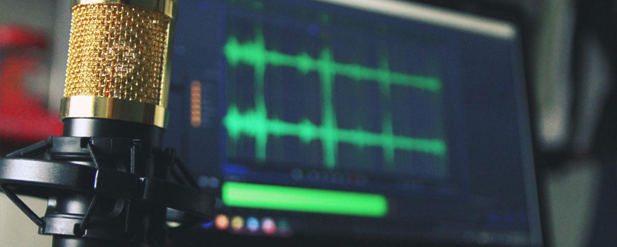 Como estão os áudios das suas videoaulas?